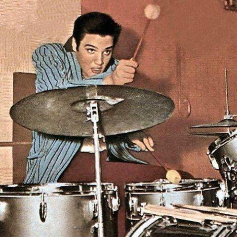 Happy Birthday, Elvis! #theking #elvis #legend #drums