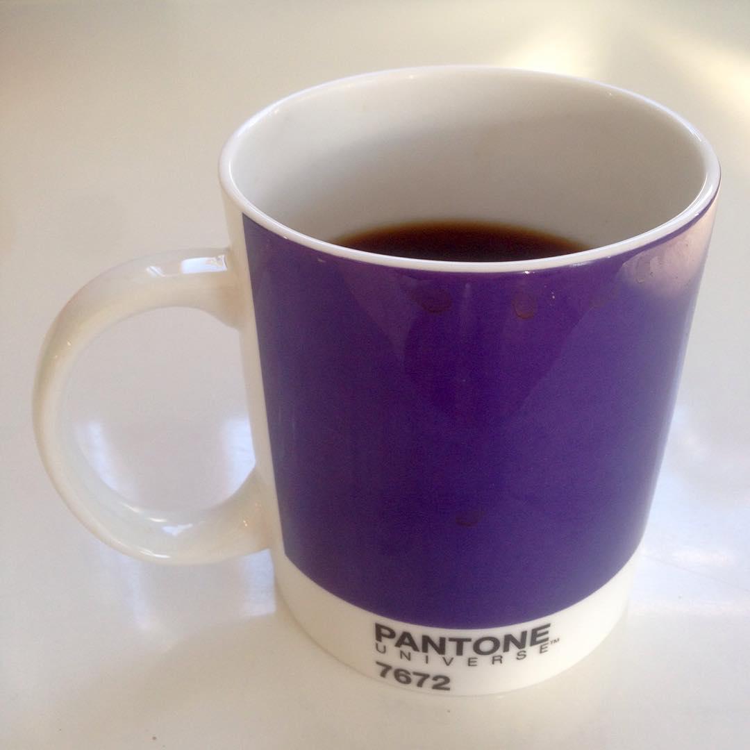 Coffeetime #pantone #coffee #7672