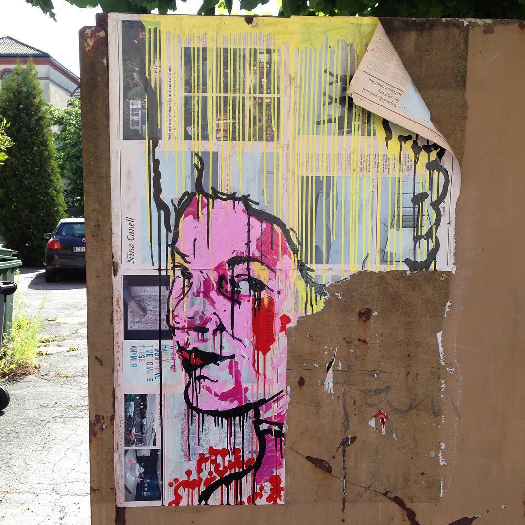#kristiansand #streetart  (at Dronningensgate)