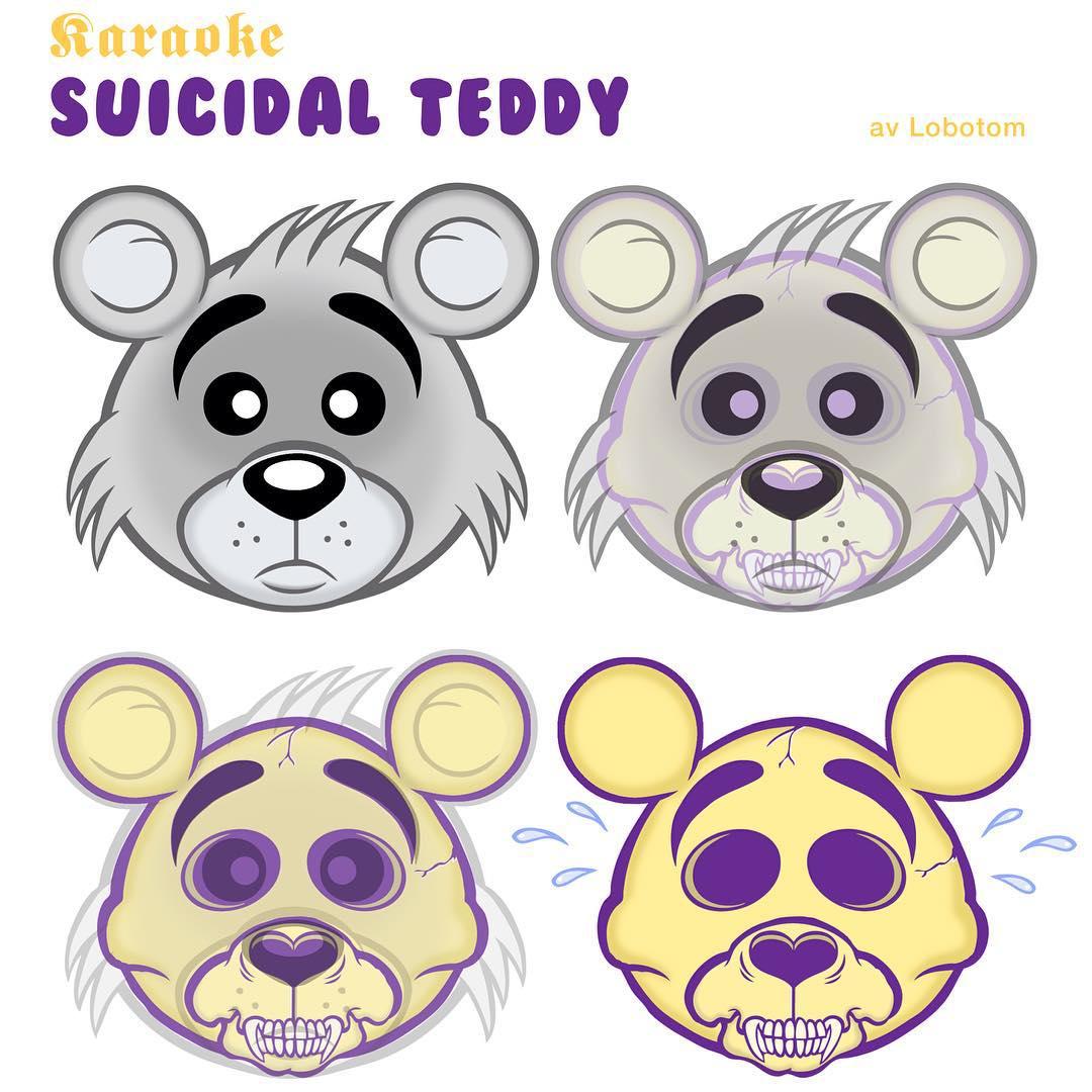 Karaoke II #2 #suicidalteddy