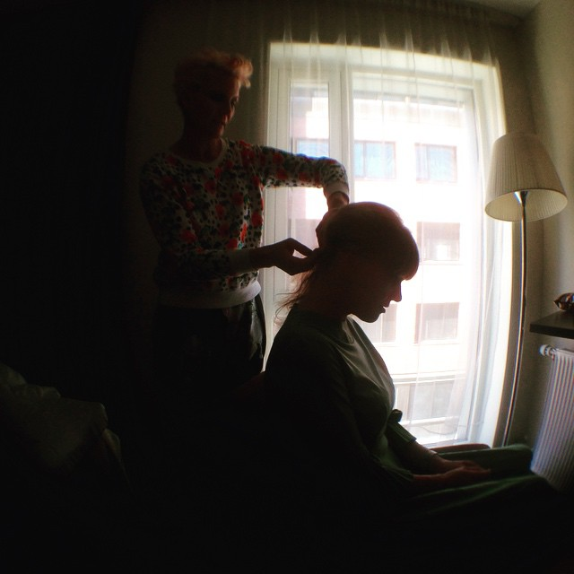 @blondiesalongen #trondheim @tinamersland 💄👠 (at Comfort Hotel)