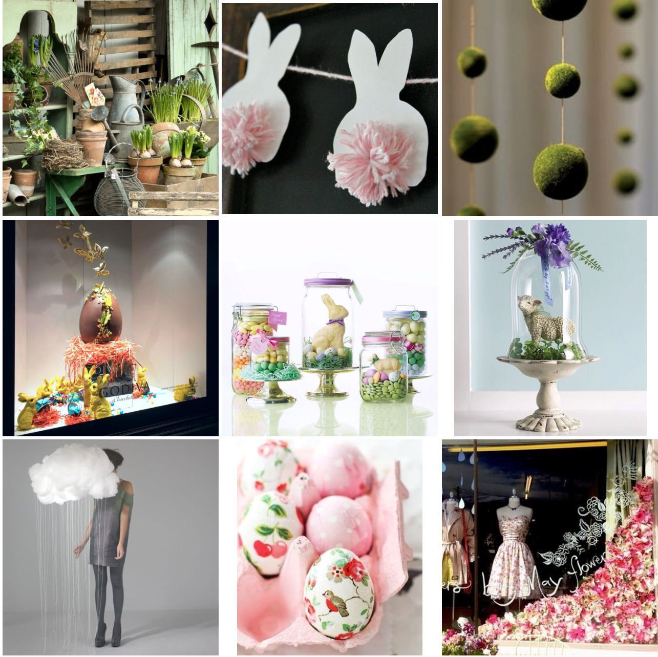 Inspiration images via Pinterest