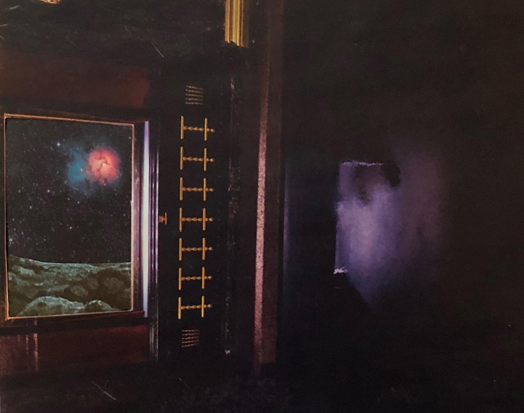 'Universal Space Port VII (Interior View)' - Analog Collage - 2018