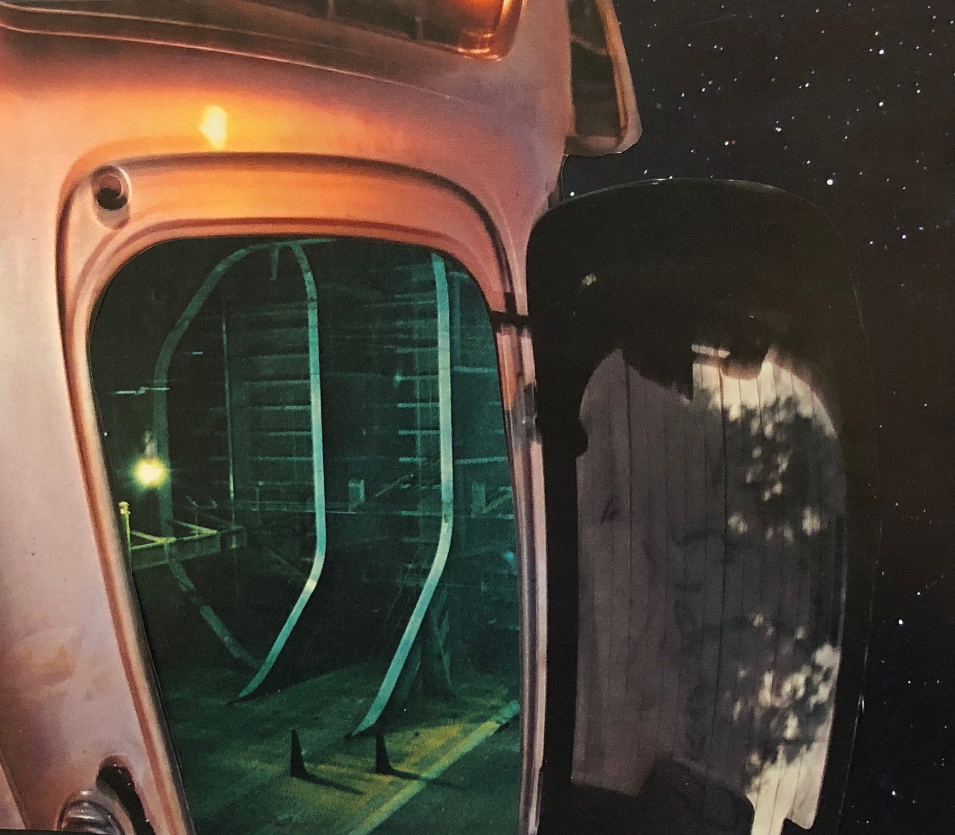 'Galactic Laboratory' - Analog Collage - 2018