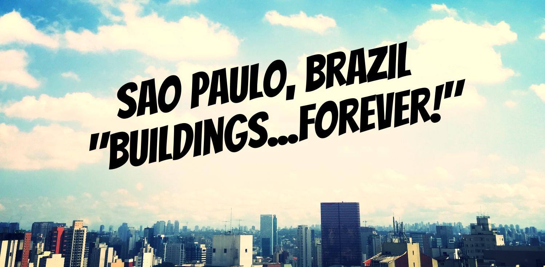 Sao Paulo, Brazil. Taken from Rua Girassol and Purpurina, Vila Madalena.