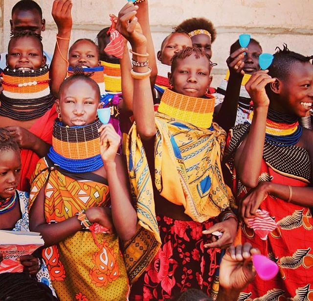 If you would like to learn more about what @thecuporg is doing in Nairobi, Kenya and why their work is so important please go to their Facebook page and listen in on their weekly podcasts. They're incredible! Photo credit: @thecuporg of the beautiful young women of Turkana after their introduction to The Cup.
