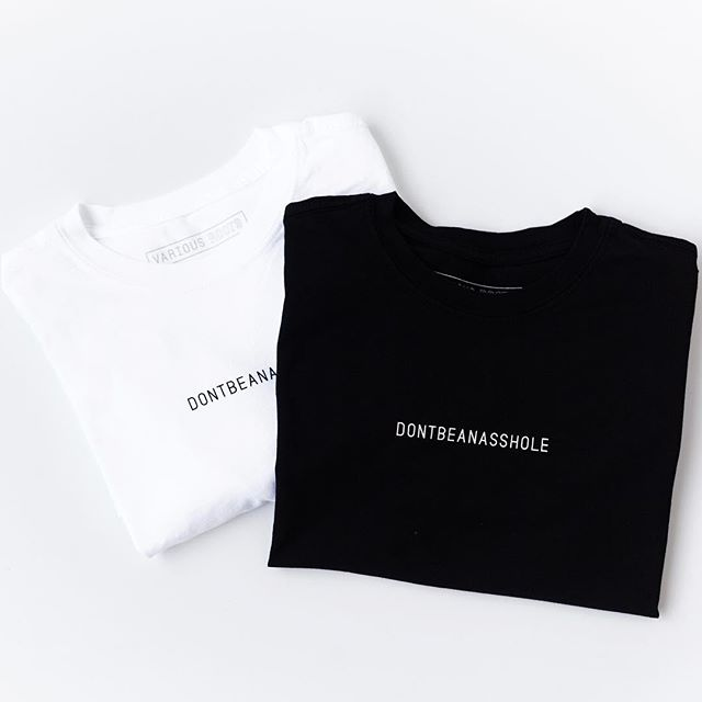 GIVEAWAY!!! If you've bought one of our robes, you may have noticed our cheeky little message on the flip side of the neck label. Our sister brand, @variousroots, is now offering super comfy t-shirts with said message loud and clear across the chest! ——————————————- How to ENTER: 1) Follow @therobelives AND @variousroots  2) Tag at least one friend under this photo. Each additional friend you tag=an additional entry!  3) Both you + your friend(s) must follow @therobelives AND @variousroots ——————————————- Winner will be picked at random. Competition ends in 48 hours.