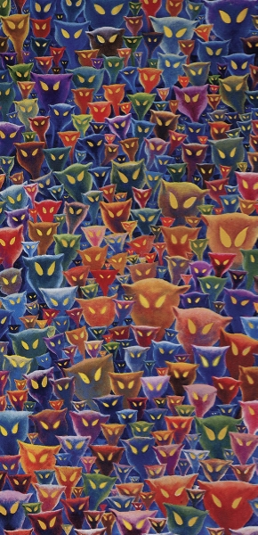 A Plethora of Cats   has been sold-out for many years.  However, it can be viewed at the Rare Editions Event.
