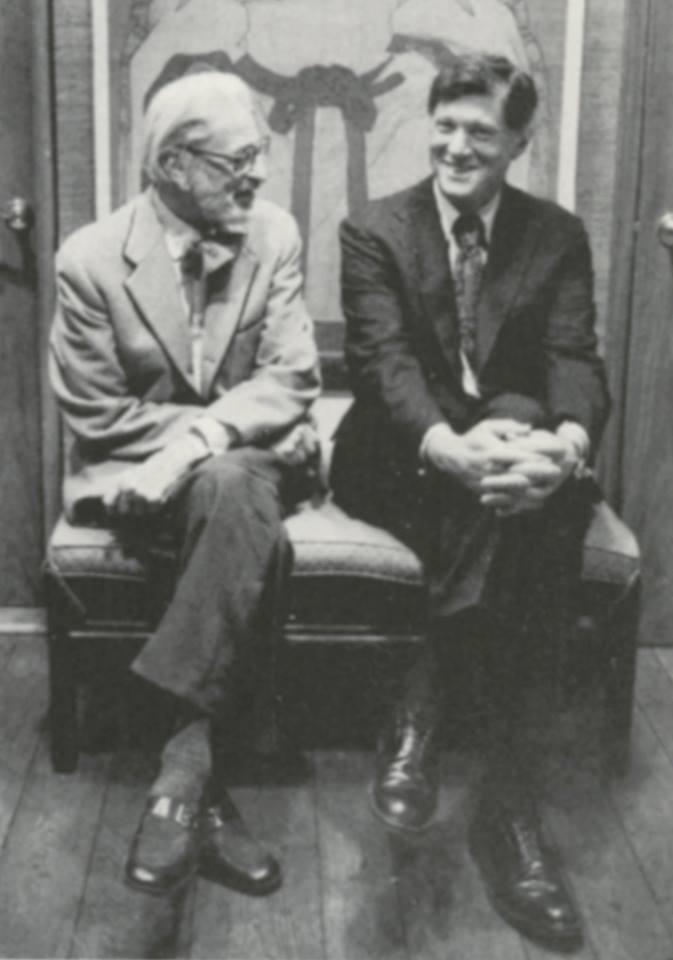 Robert Bernstein with Ted Geisel