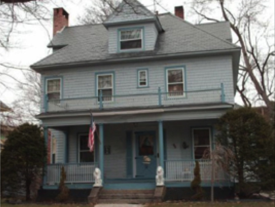 Ted's childhood home.