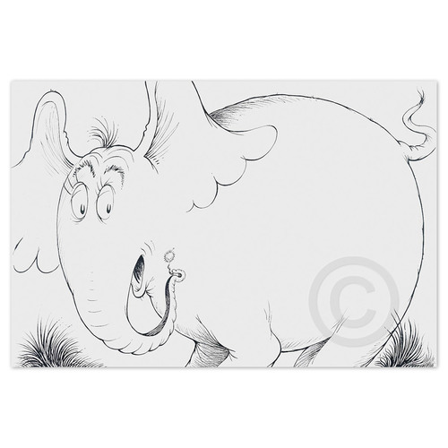 Horton Line Drawing
