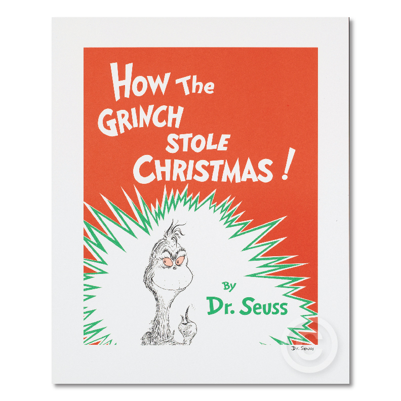 How The Grinch Stole Christmas! - Book Cover