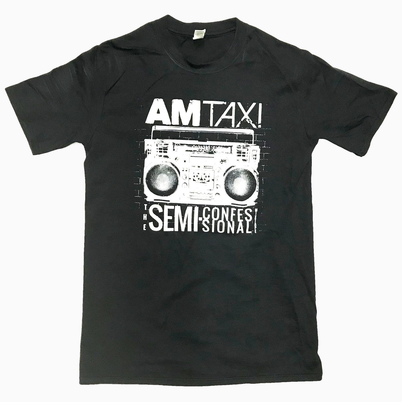 semi-confessional t-shirt - black -