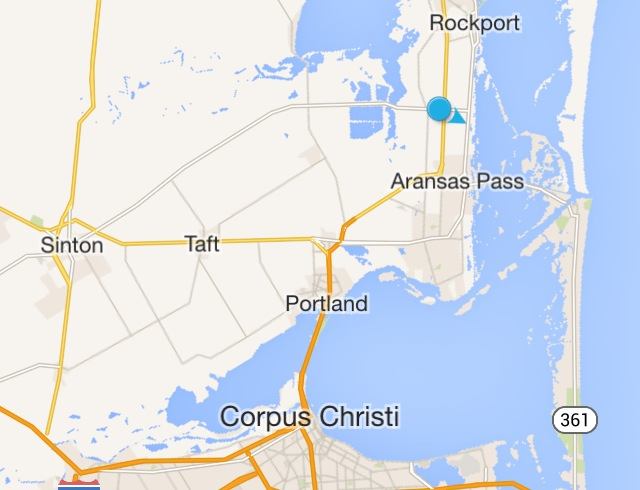 Above is a map overview of the location of our offices. The blue dot represents Rockport Monument.