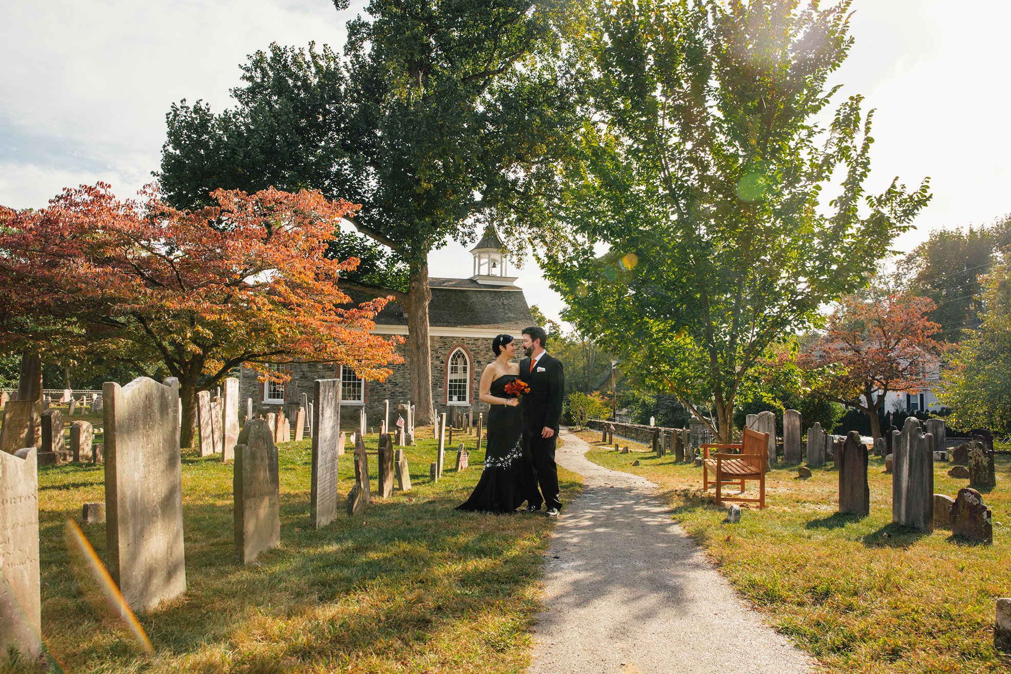 Laura and Michael - 10/6/17 - Old Dutch Church and Sleepy Hollow Village Hall