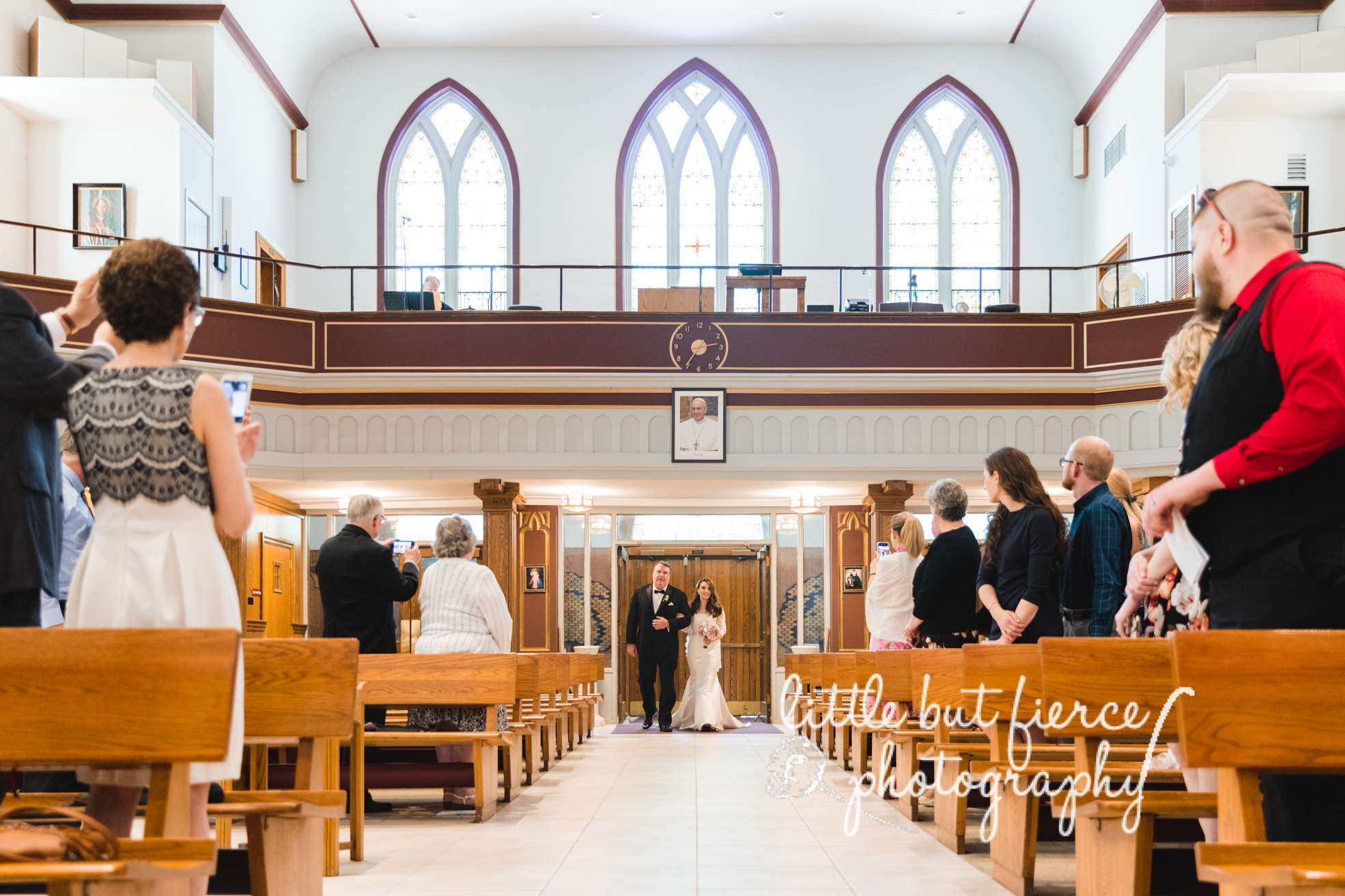 Wedding at Saint Joseph's Church and The Chateau in Kingston, New York- Hudson Valley