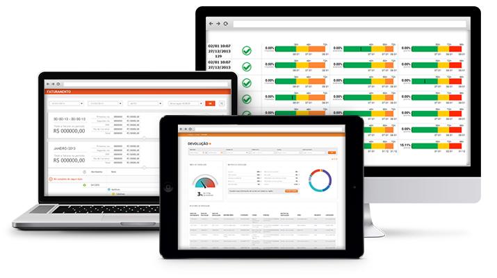Tela web para gestão e controle do Transpromo