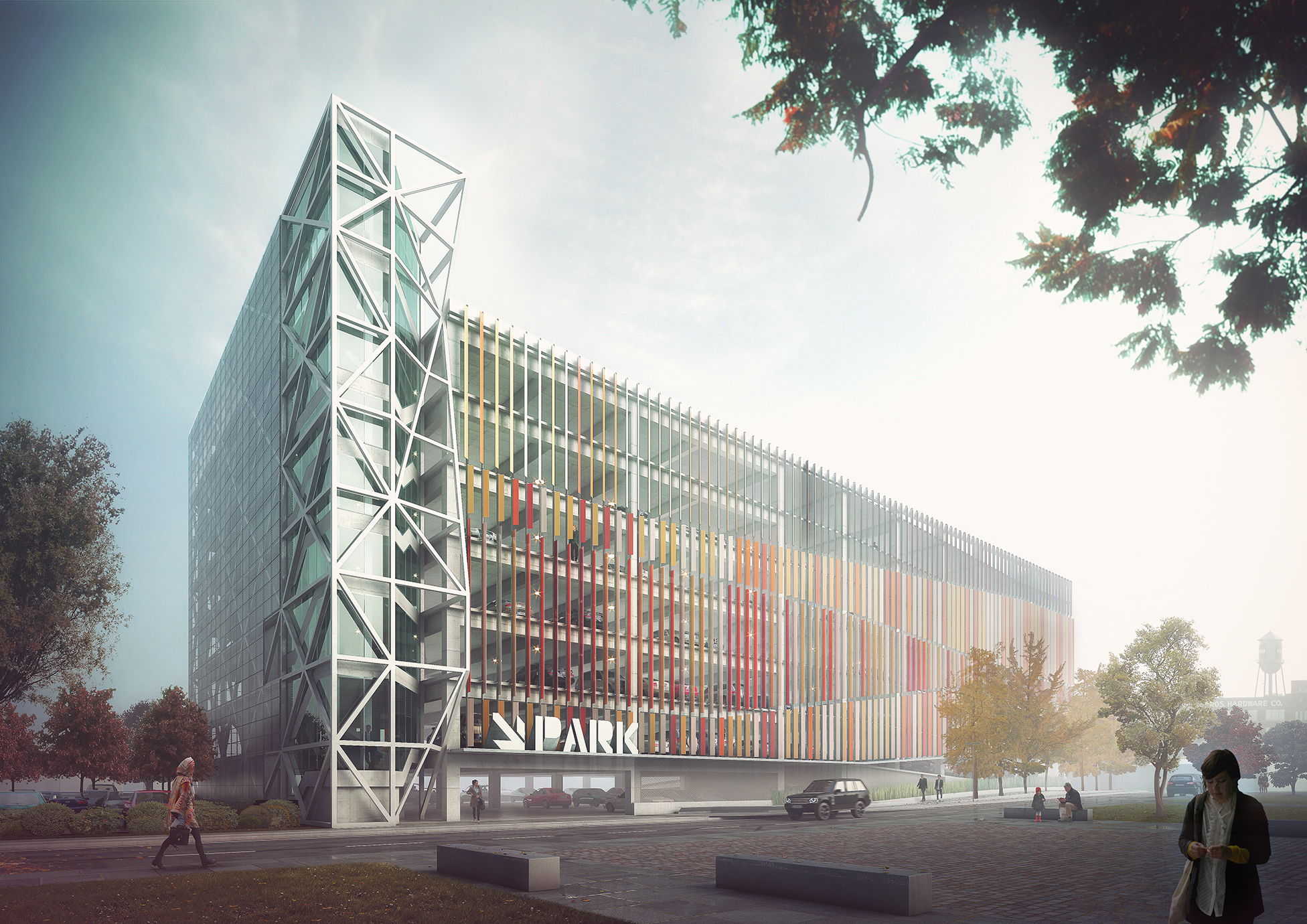 Franklin County Convention Authority Garage / NBBJ