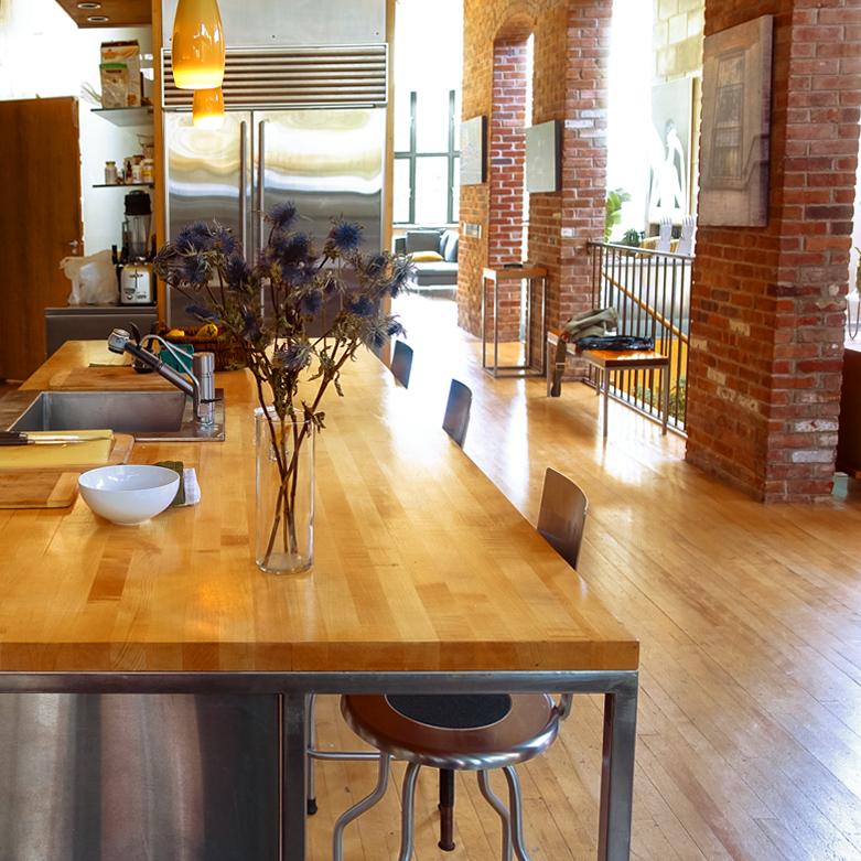 Editorial kitchen West Village