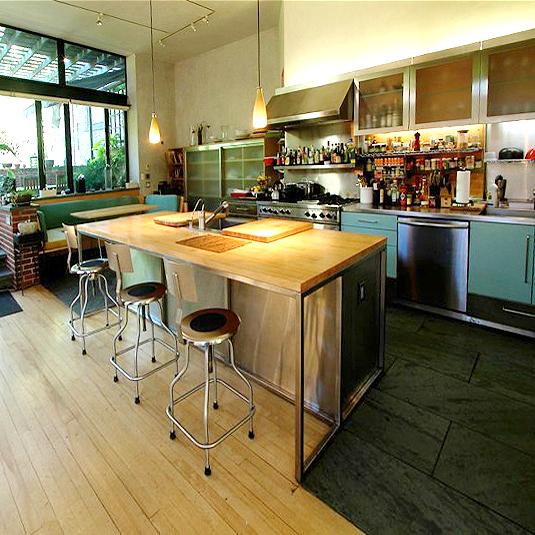 West Village kitchen for film shoot