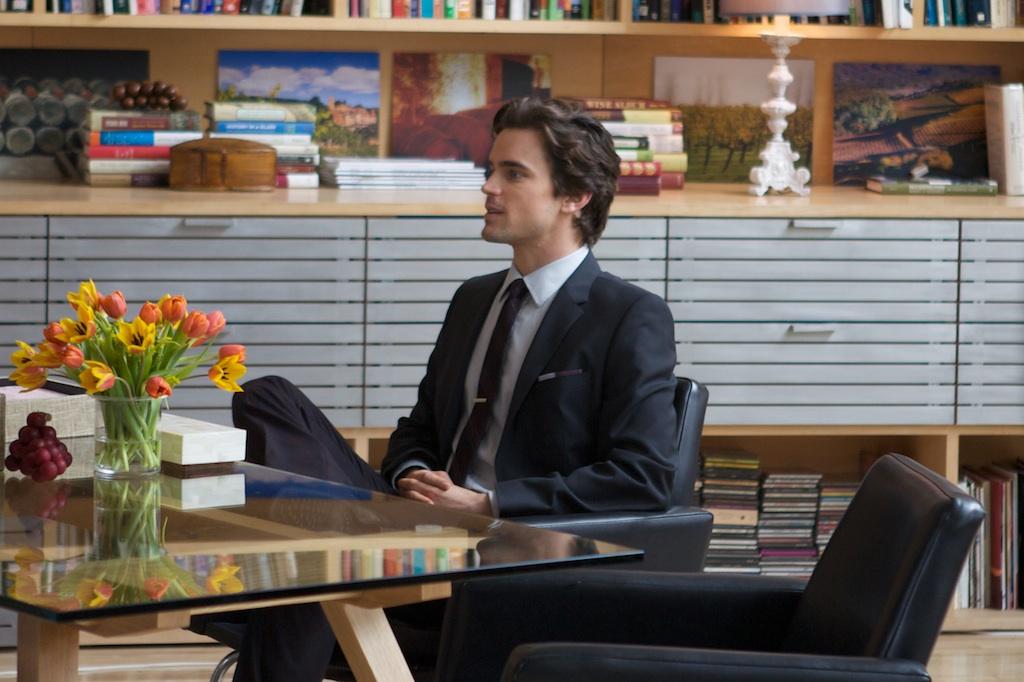 Matt in the living room at Bennett Media Studio