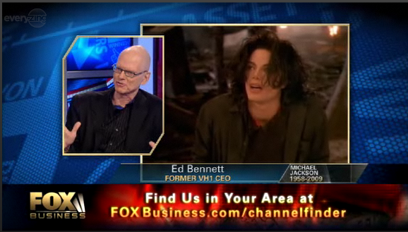 Ed Bennett discusses Michael Jackson on Fox TV