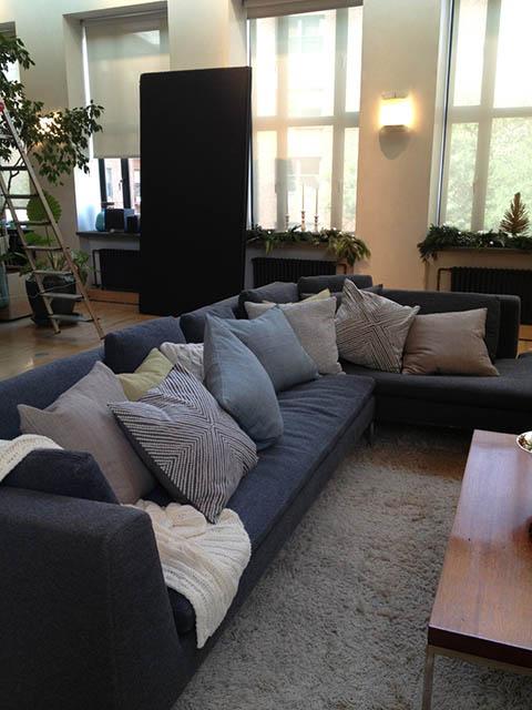 Cushion party