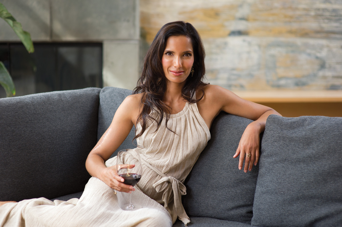 Padma Lakshmi at Bennett Media Studio