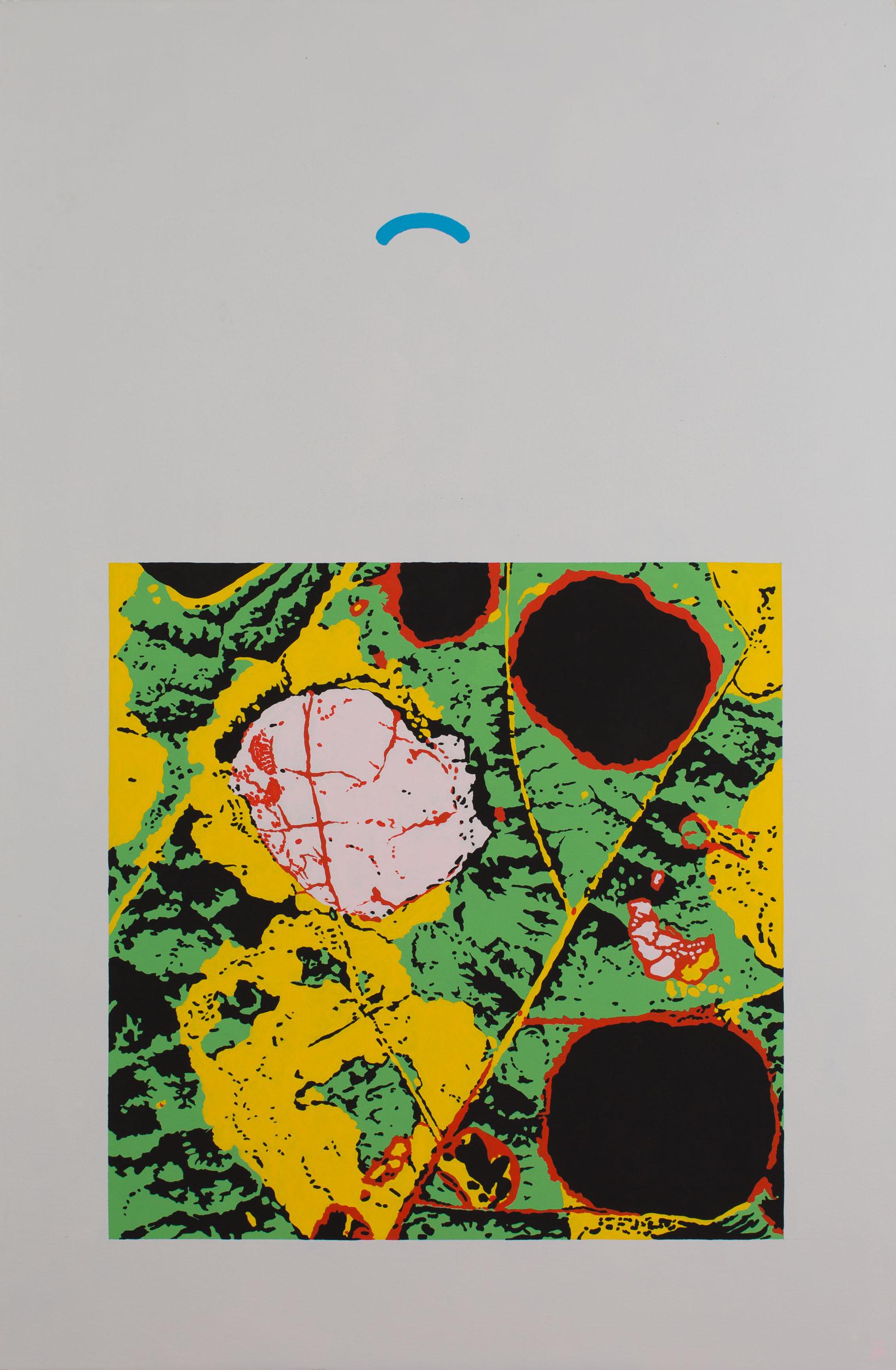 Ode to a Cutworm (Leaf II)