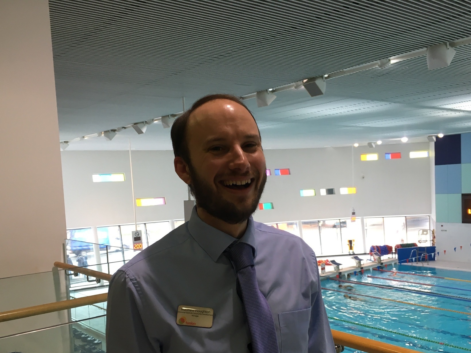 Where to find Matthew? - Glass Mill Leisure Centrewww.fusion-lifestyle.com/centres/glass-mill-leisure-centre/Want to train up employees to promote Mental Health Awareness and First Aid in the workplace?Contact Ad-Lib Training todayinfo@adlibtraining.com