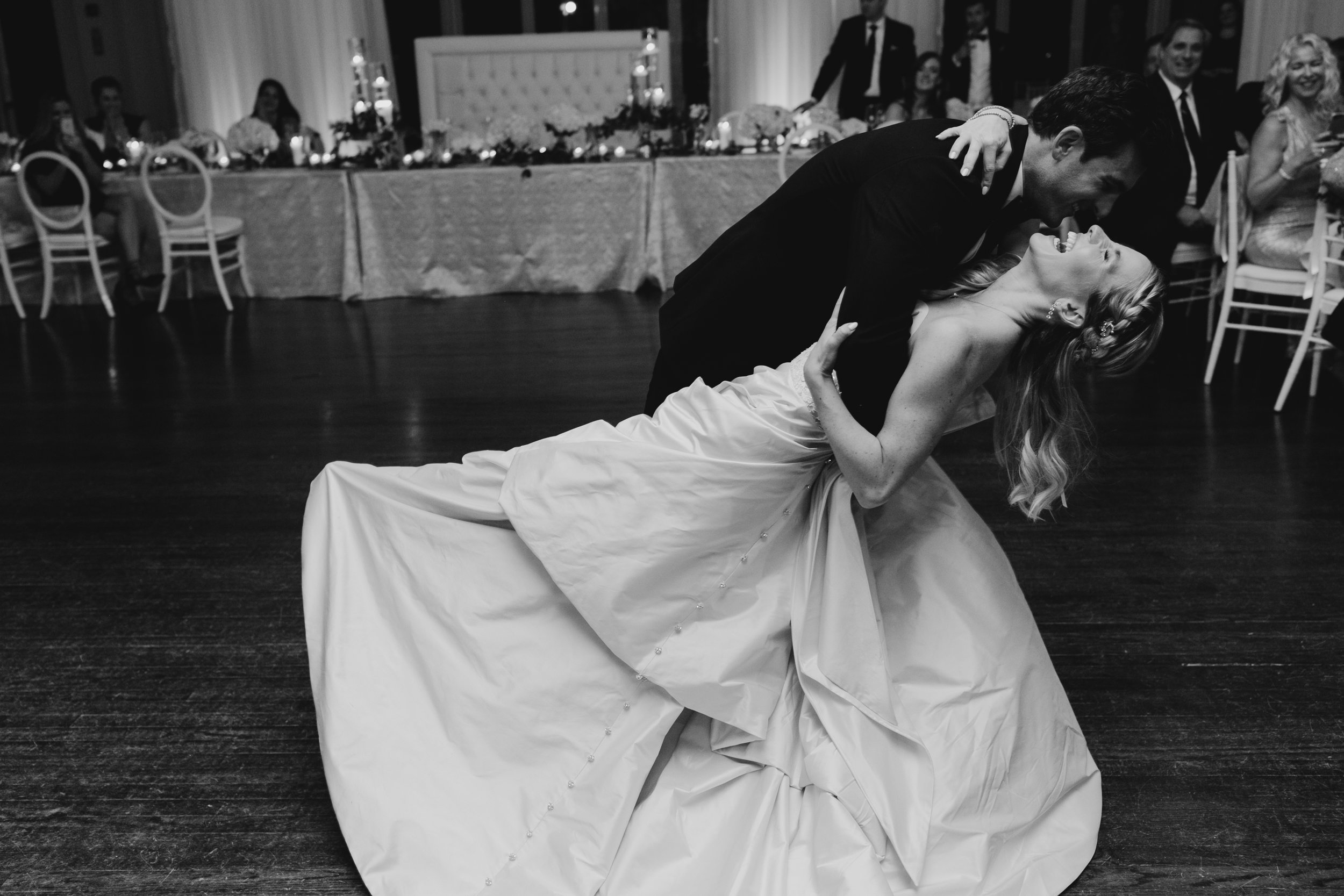 Lindsay and Derek's first dance, captured by Henry and Mac Photography
