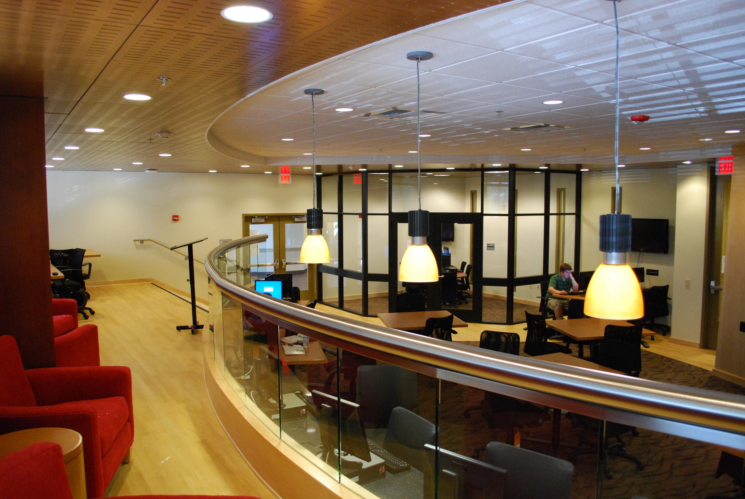 Academic Computing Building Cyber Café, Claremont Graduate University