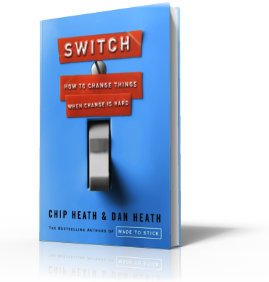 How do you change behavior? You must first change the brain. Ever wonder how to do that? Switch will tell you how.
