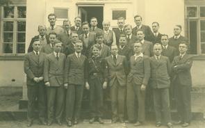 Seminarians at Finkenwalde