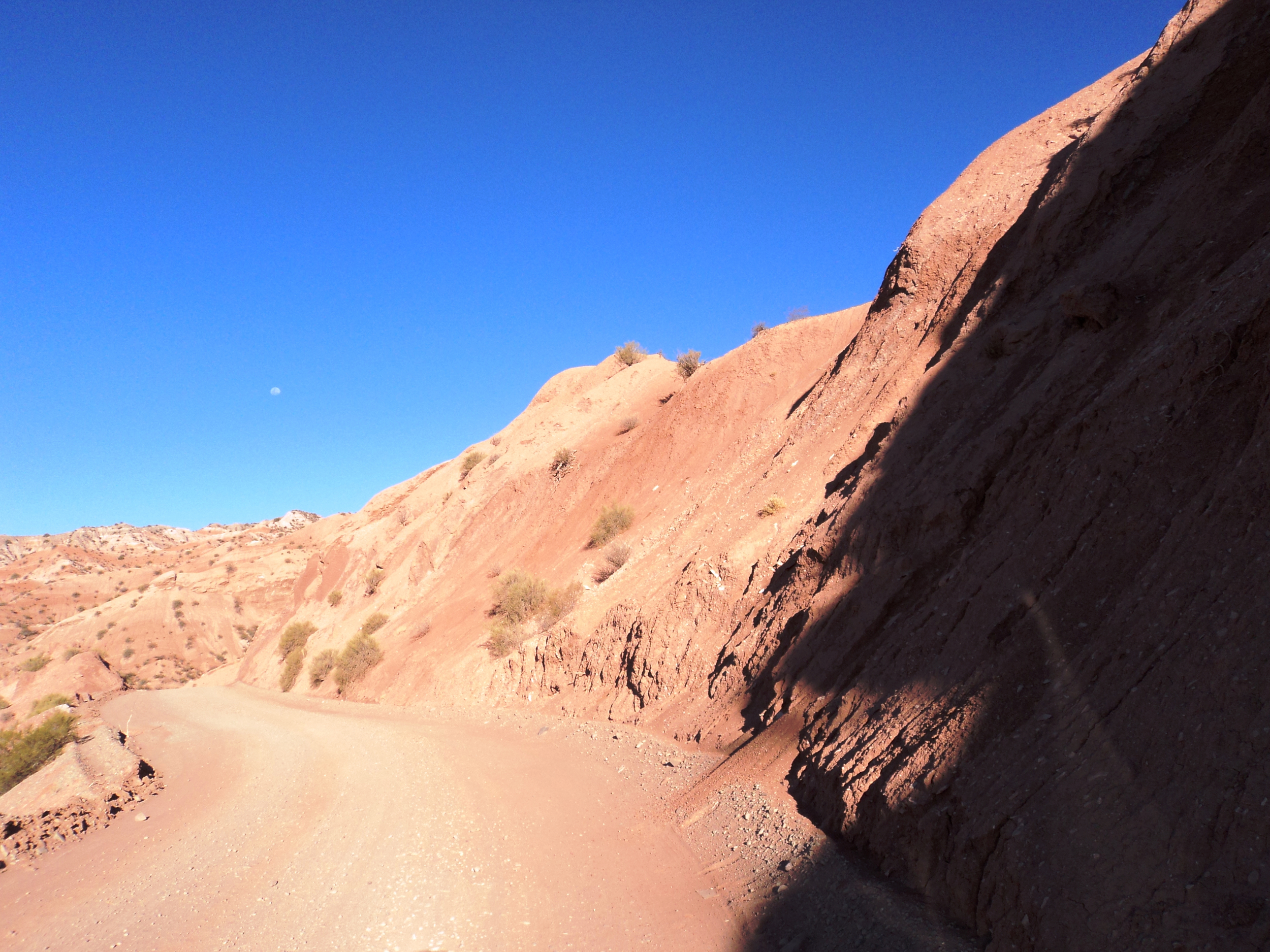 Mountain road outside of Cachi, Argentina (2500 m. elevation).