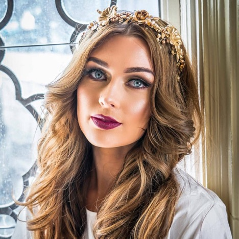 Model: MC McQueen  Makeup: Maryina Isa  Hair: Revamp Hair Salon  Photographer: Harrison Hall from Golden Media Co.