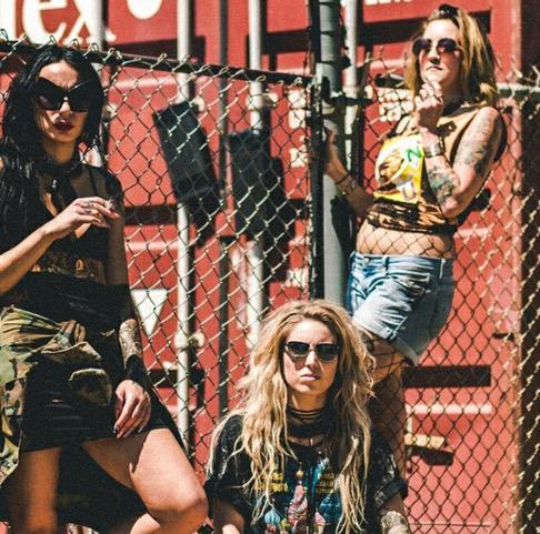 Models: Christian Leigh, Devon Kelliher, Miranda Siren  Photographer: Kyle Boham