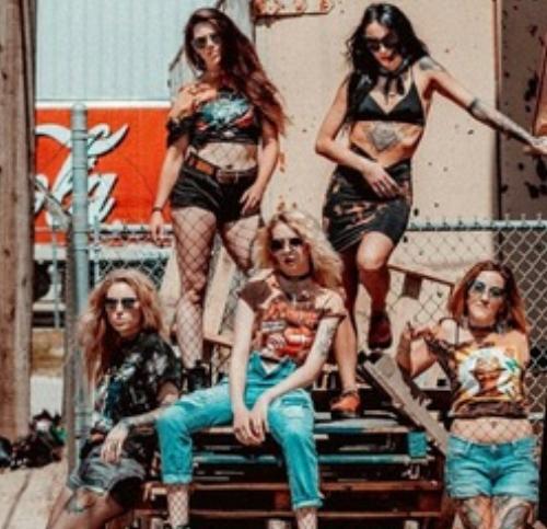 Models: Top row standing: Kristen Hoge, Christian Leigh. Front row: Devon Kelliher, Danielle Duperreaul and Miranda Siren.  Photographer: Kyle Boham