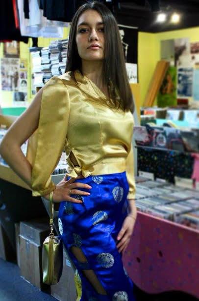 Designed by: Elena Moruz  Model: Tatiana Moruz