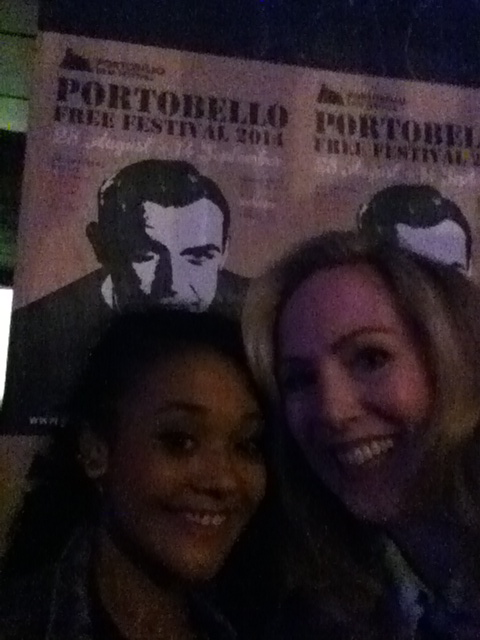 My lovely friend Natasha who came along to support the BARDO screening. Fun night...