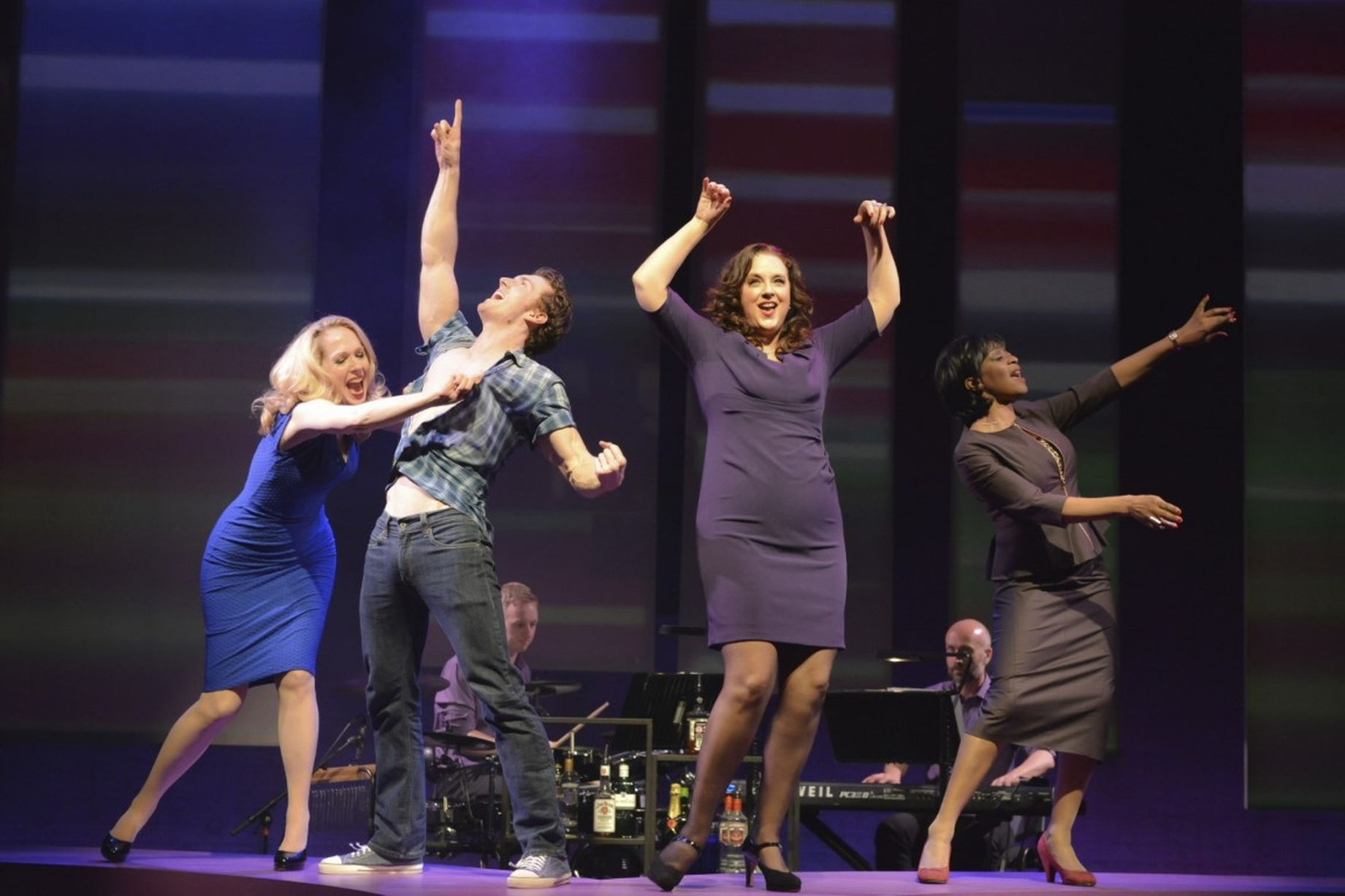 Curtain Call with Barnaby Hughes, Joe Pickering (drums),Suanne Braun, Neil MacDonald (keys)and Dawn Hope