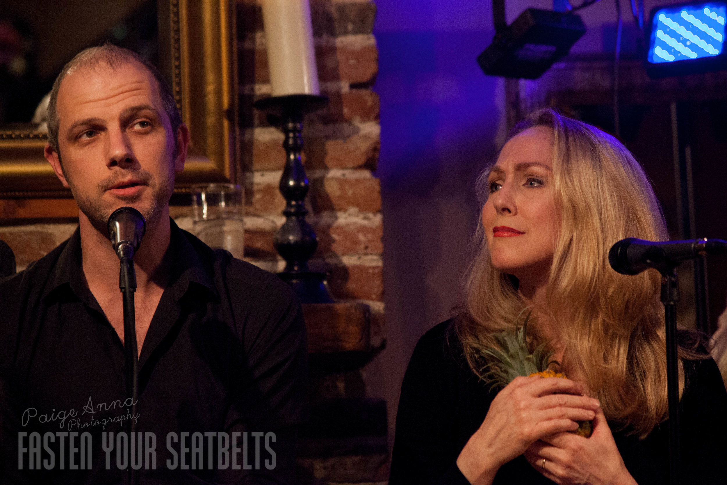 Nate Rogers and Pippa Winslow singing 'It Couldn't Please Me More' (The Pineapple Song) in THE SONGS OF KANDER AND EBB.