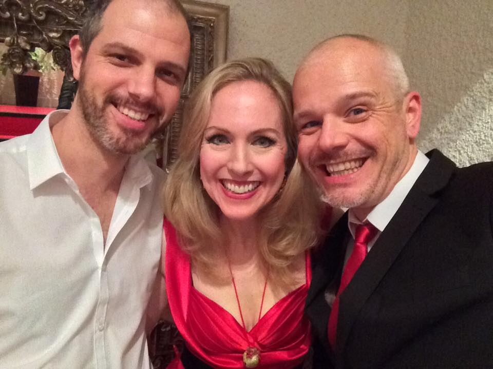 FYS founders Nate Rogers, Pippa Winslow and Paul Branch.