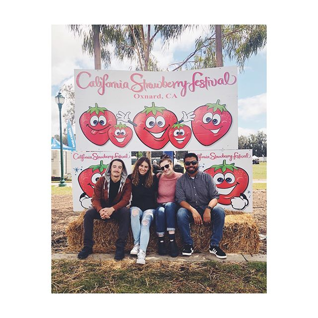 a strawberry festival with these little berries 🍓