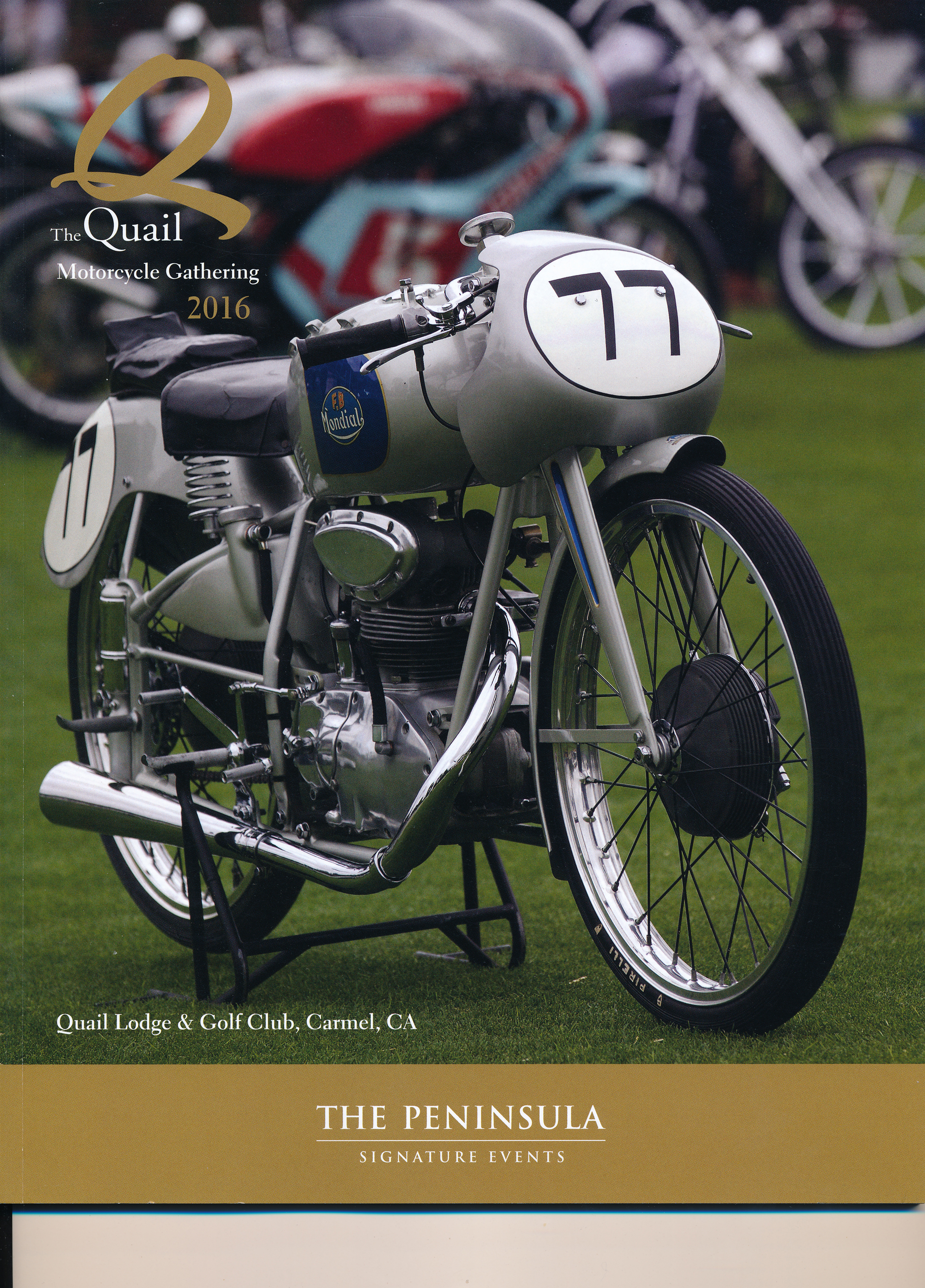 The Quail Motorcycle Event