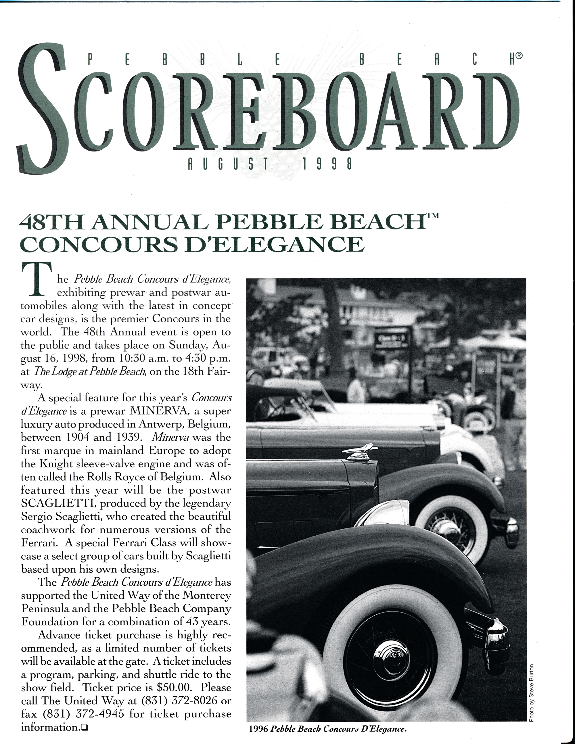Pebble Beach Concours
