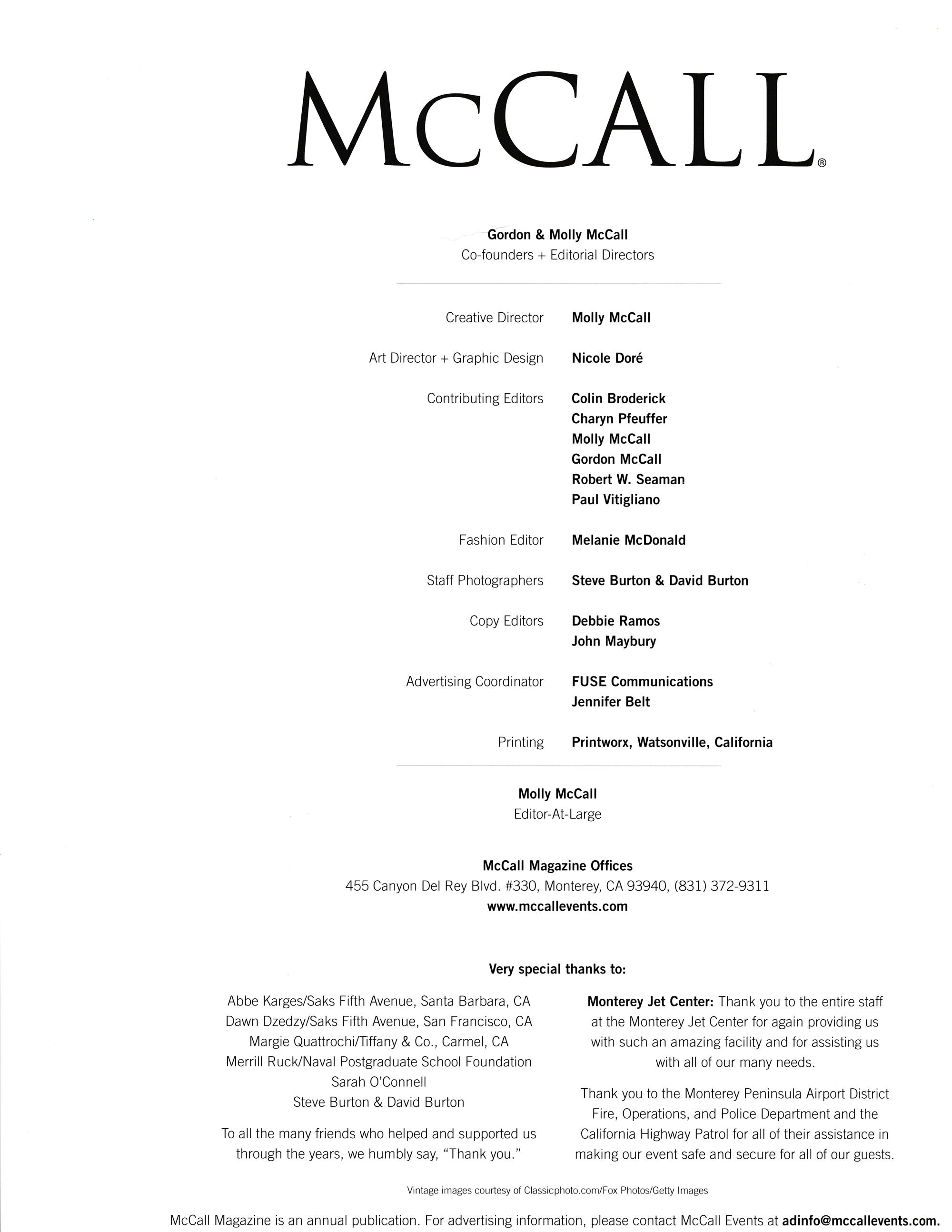McCall Magazine