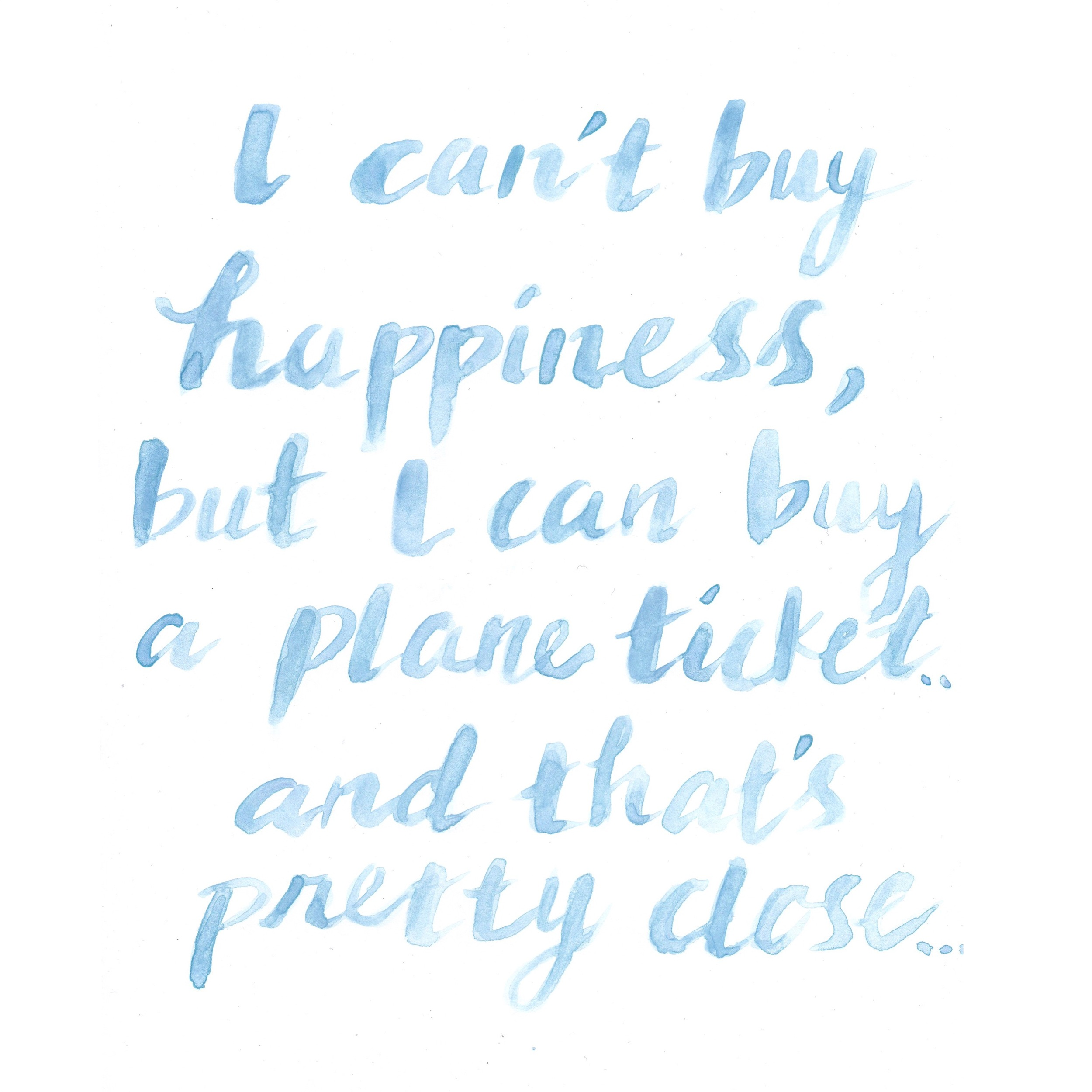 I Can't Buy Happiness 2015