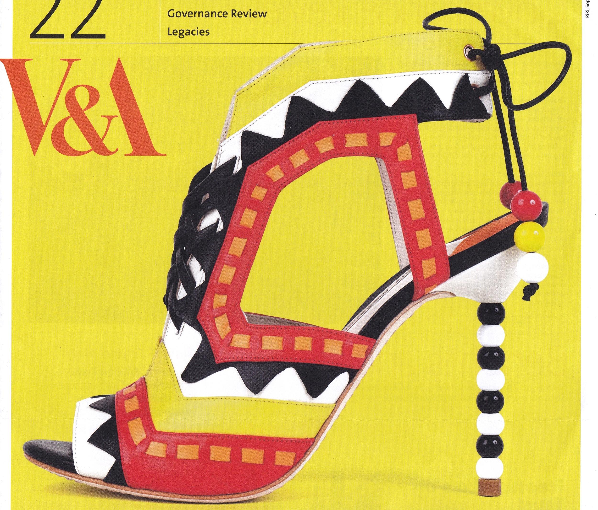 Shoes: Pleasure & Pain Exhibit Poster