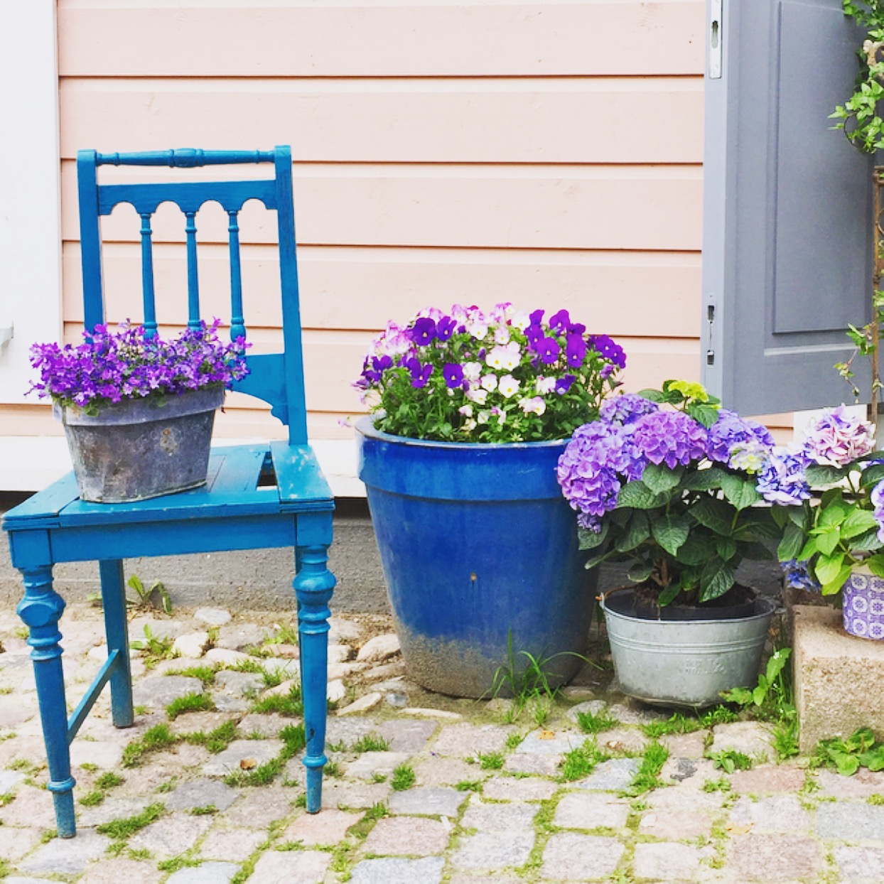 Color inspo in Porvoo, Finland. June, 2015
